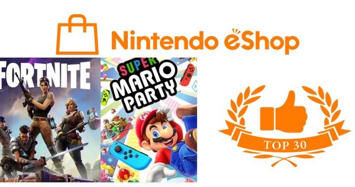 Nintendo eShop America – Top 30 for October 2018