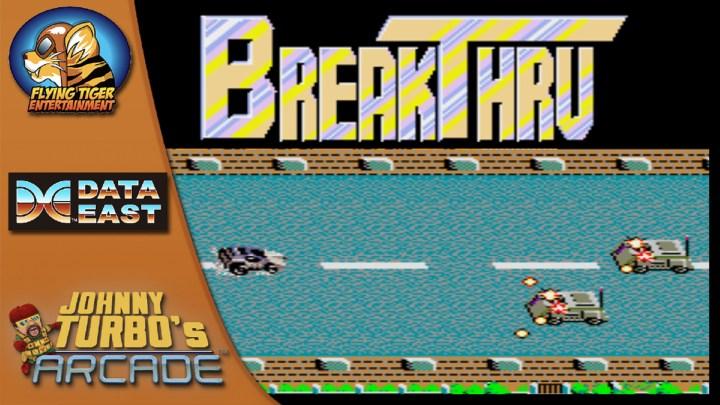 Johnny Turbo's Arcade: Break Thru