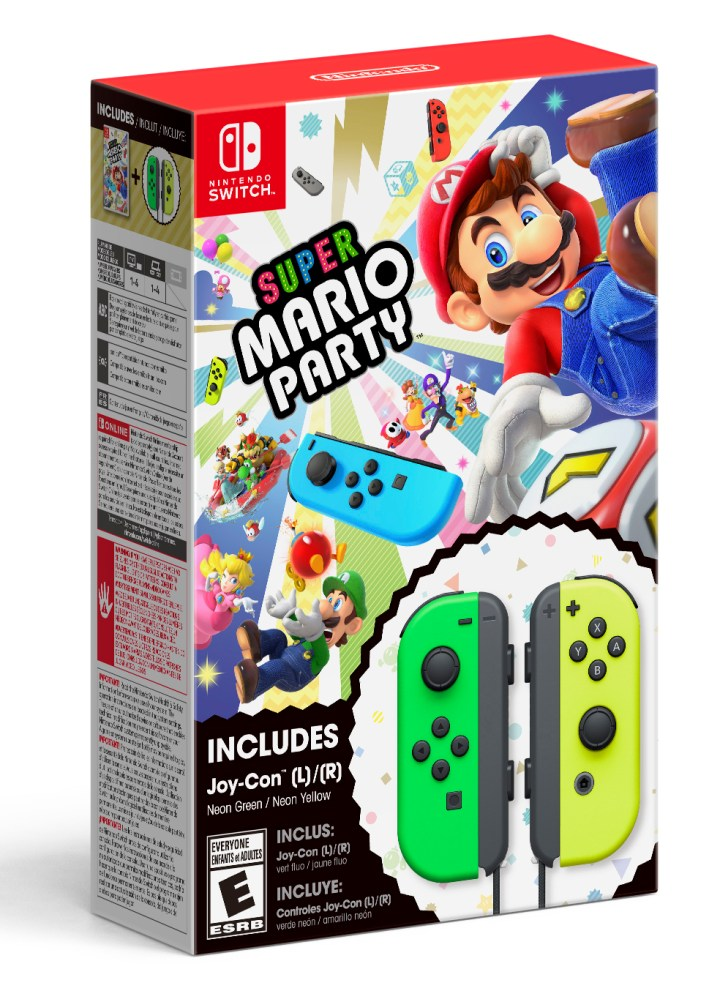 Super Mario Party JoyCon Bundle