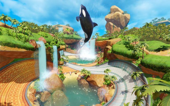 Team Sonic Racing - new map: Whale Lagoon