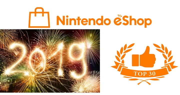 Most Downloaded Games of 2018 on the US eShop