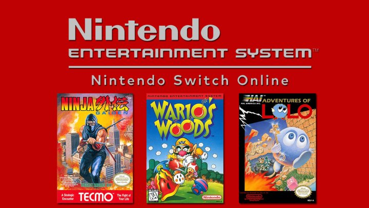 Nintendo Entertainment System – Nintendo Switch Online – These three games are now available in the service: Adventures of Lolo, Ninja Gaiden , and Wario's Woods
