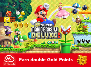 Earn double Gold Points!