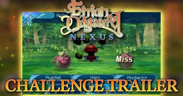 Challenges in Etrian Odyssey Nexus