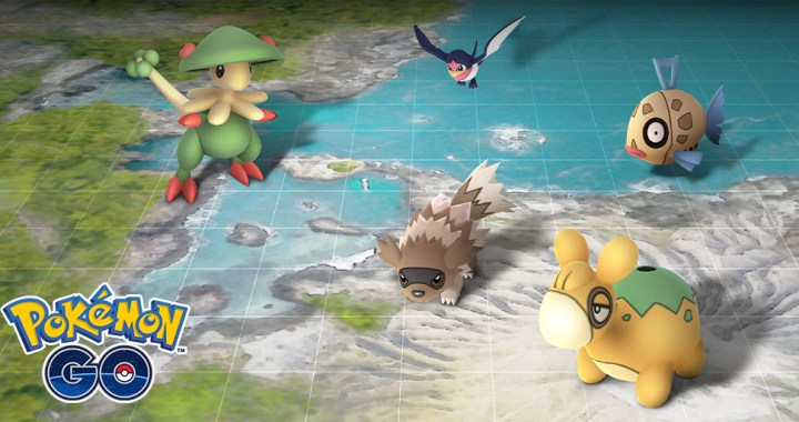 Celebrate the Hoenn region during this new event!