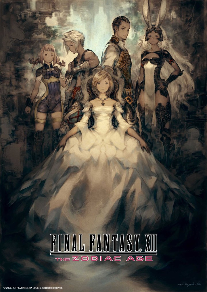 FINAL FANTASY XII THE ZODIAC AGE artwork by artist Akihiko Yoshida