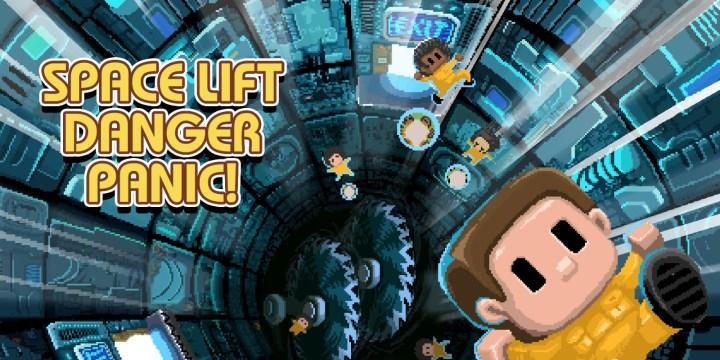Space Lift Danger Panic!