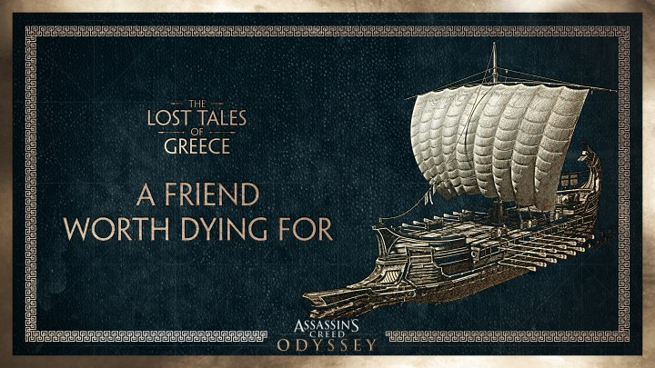 The Lost Tales of Greece DLC 'A Friend Worth Dying For'