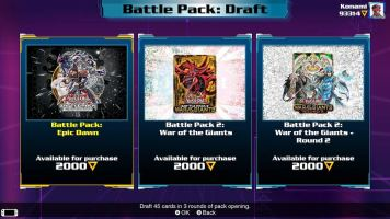 Yu-Gi-Oh! history with Yu-Gi-Oh! Legacy of the Duelist: Link Evolution battle packs