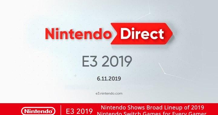 E32019 NintendoDirect BroadLineUp header 01