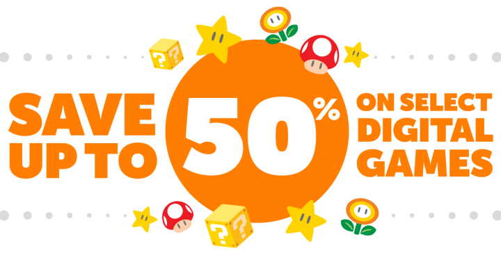 ave Up to 50% on Select Digital Games