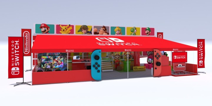 Nintendo Road Trip 2019 - Trailer opened