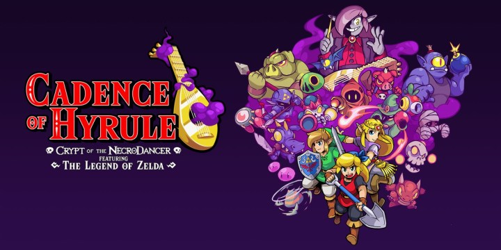 adence of Hyrule: Crypt of the NecroDancer Featuring the Legend of Zelda