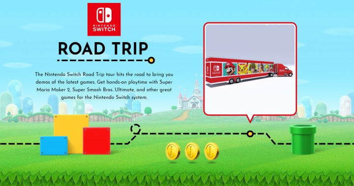 Nintendo Switch Heads Across the U.S. for an Interactive Road Trip for Kids and Families