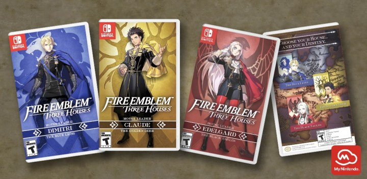 Fire Emblem: Three Houses My Nintendo Rewards