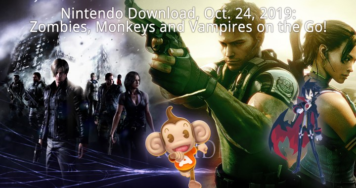 Nintendo Download, Oct. 24, 2019: Zombies, Monkeys and Vampires on the Go!