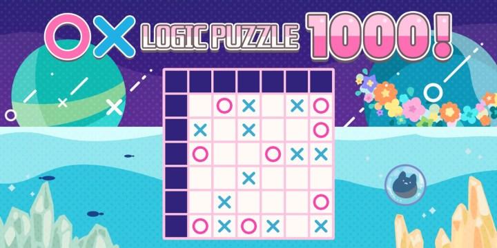 〇× LOGIC PUZZLE 1000 !