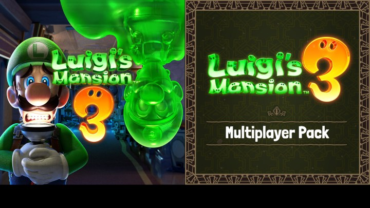 New DLC - Luigi's Mansion 3 – The Luigi's Mansion 3 Multiplayer Pack
