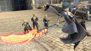 Byleth from the Fire Emblem Series