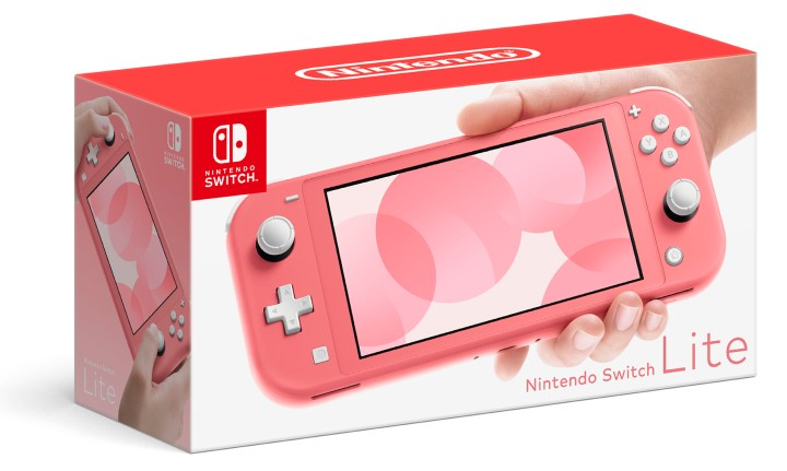 New Coral Nintendo Switch Lite System