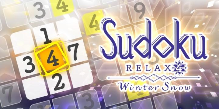 Sudoku Relax 4 Winter Snow