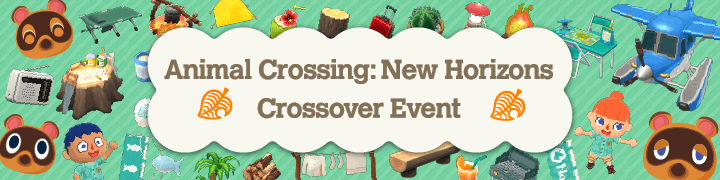 Animal Crossing: New Horizons Crossover Event On Now!