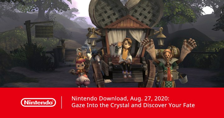 Nintendo Download, Aug. 27, 2020: Gaze Into the Crystal and Discover Your Fate