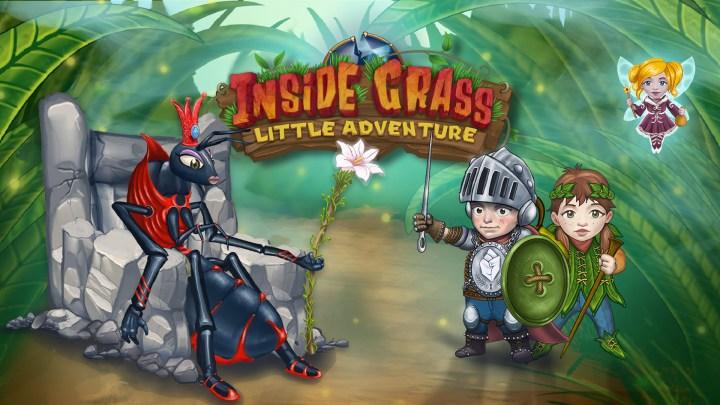 Inside Grass: A little adventure