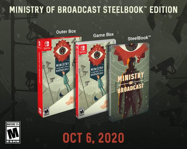 Ministry of Broadcast - Steelbook edition