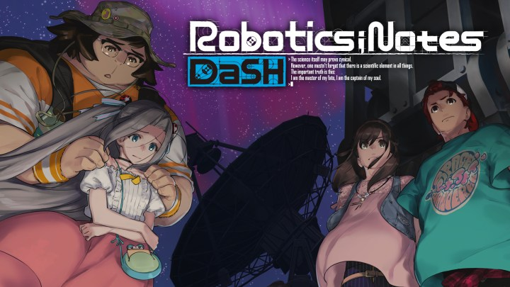 ROBOTICS;NOTES DaSH