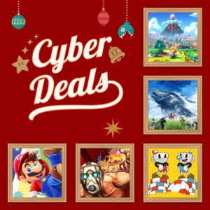 Save big with Nintendo Cyber Deals