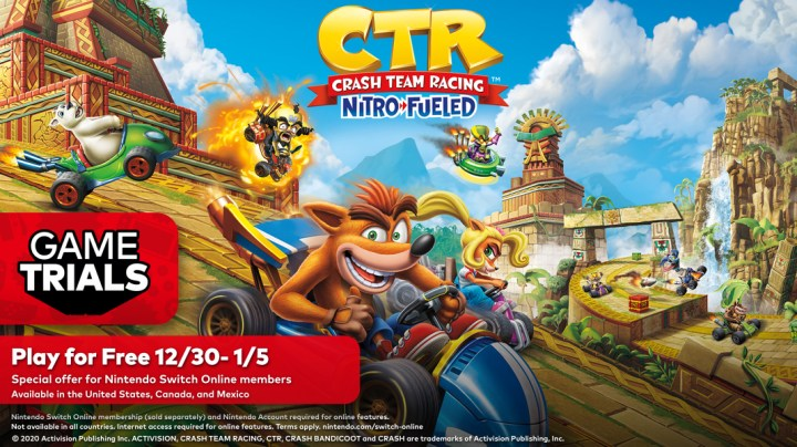 Crash Team Racing Nitro-Fueled game demo