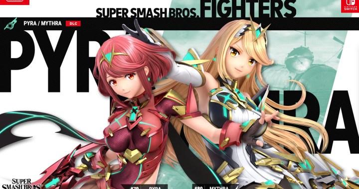 Pyra/Mythra Join Super Smash Bros. Ultimate