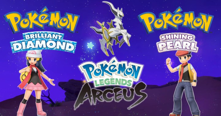 POKÉMON ANNOUNCES NEW VIDEO GAMES POKÉMON BRILLIANT DIAMOND, POKÉMON SHINING PEARL, AND POKÉMON LEGENDS: ARCEUS​​​​​