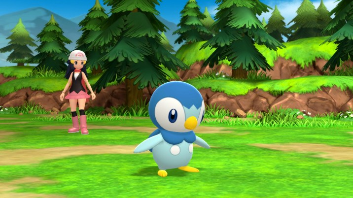 Pokémon Brilliant Diamond and Pokémon Shining Pearl