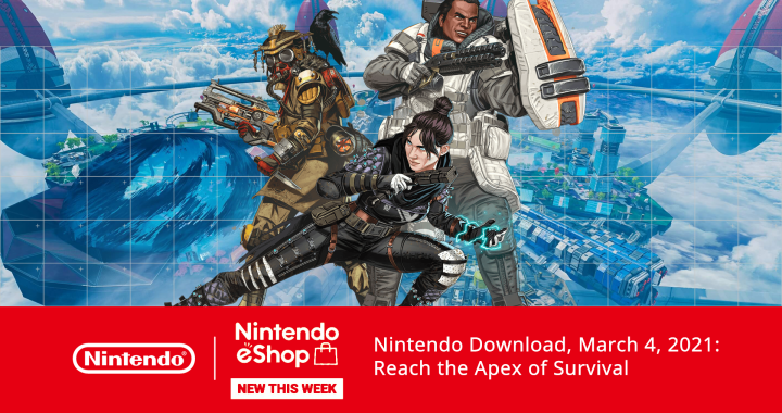 Nintendo Download, March 4, 2021: Reach the Apex of Survival