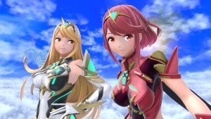 Pyra and Mythra from Xenoblade Chronicles 2