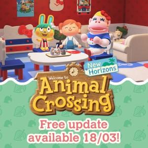 DLC: Anniversary Crossing – Animal Crossing: New Horizons Update