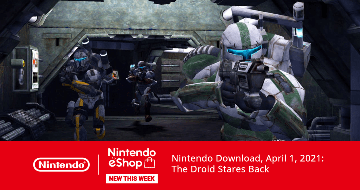Nintendo Download, April 1, 2021: The Droid Stares Back