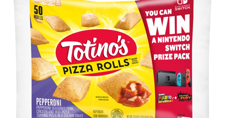 TOTINO'S KICKS OFF A LIMITED-TIME NINTENDO SWITCH GIVEAWAY