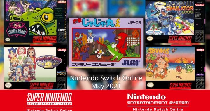NintendoSwitchOnline 052021 NES SNESgames image1