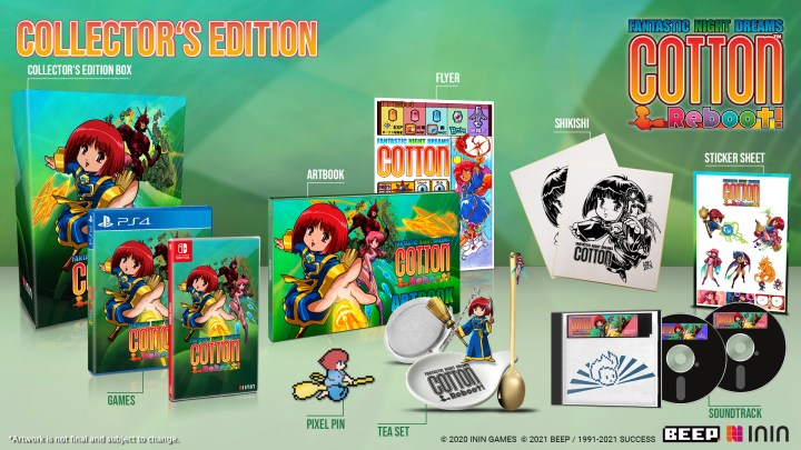 Cotton Reboot! Collector's Edition