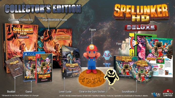 Spelunker HD Deluxe - Collector's Edition