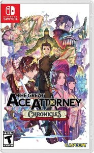 The Great Ace Attorney Chronicles Box art