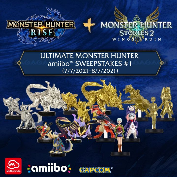 My Nintendo Ultimate MONSTER HUNTER amiibo Sweepstakes #1