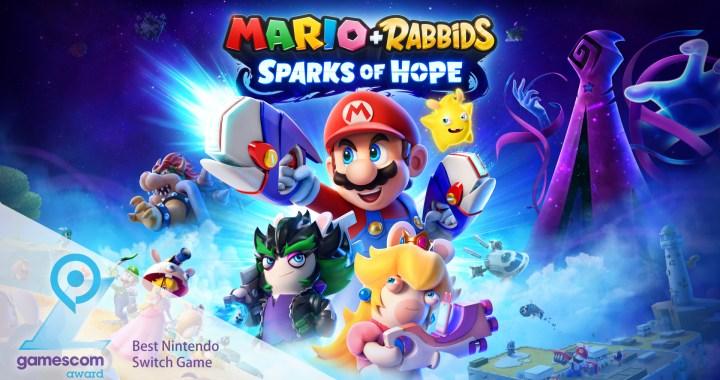 Gamescom Award Mario + Rabbids Sparks of Hope Best Nintendo Switch Game