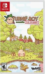 Turnip Boy Commits Tax Evasion Box Art
