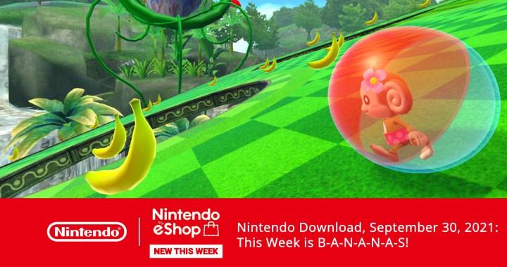 Nintendo Download, September 30, 2021: This Week is B-A-N-A-N-A-S!