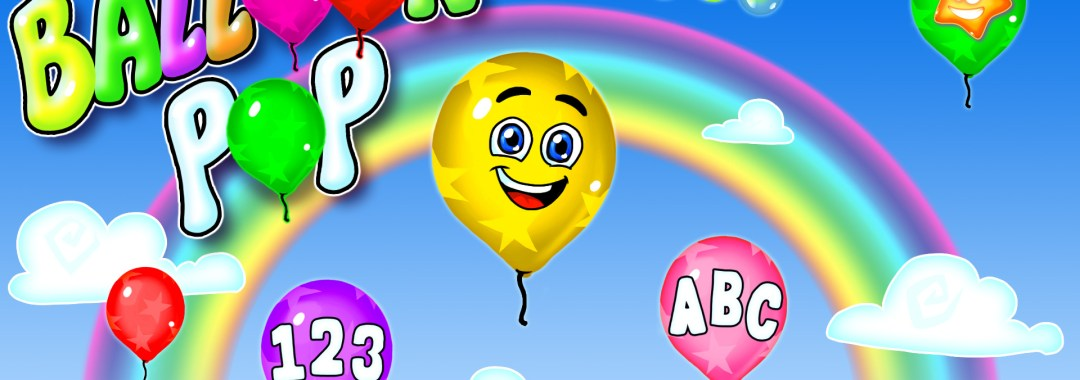 Balloon Pop - Learning Letters, Numbers, Colors, Game for Kids