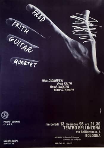 Poster - lorem ipsum, 1995 - aaa art angelica